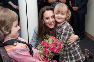 The Duchess Of Cambridge Visits Shooting Star House Children's Hospice